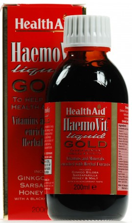 HEALTH AID HAEMOVIT LIQUID GOLD™ TONIC 200ML