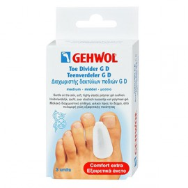 GEHWOL TOE DIVIDERS GD MEDIUM 3 ΙTEMS