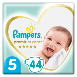 PAMPERS Premium Care No.5 (11-16 Kg) 44 Πάνες