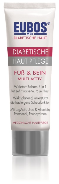 EUBOS DIABETIC SKIN FOOT & LEG MULTI-ACTIVE 100ml