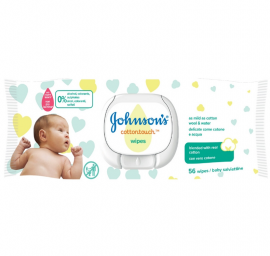 Johnsons Baby CottonTouch Wipes 56τμχ