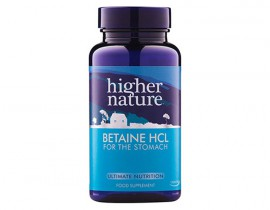 Higher Nature Betaine HCL 90caps