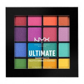 NYX PM Ultimate Shadow Παλέτα Σκιών 4 Brights 171gr