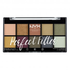 NYX PM Perfect Filter Παλετα Σκιων 3 Olive You 154gr