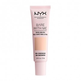 NYX PM Bare With Me Tinted Skin Veil Κρέμα με Χρώμα 1 Pale Light ml
