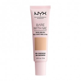 NYX PM Bare With Me Tinted Skin Veil Κρέμα με Χρώμα 3 Natural Soft Beige ml