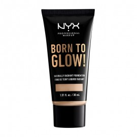 NYX PM Born To Glow! Naturally Radiant Foundation 2 Alabaster ml