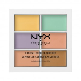 NYX PM Color Correcting Παλετα Concealer 4  gr