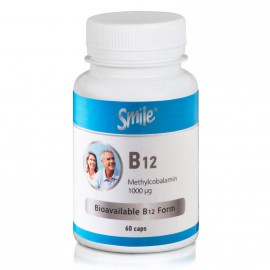 AM Health Smile B12 1000μg 60caps