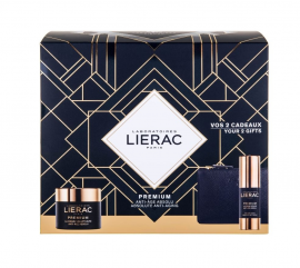 Lierac Set Premium La Creme Voluptuese 50ml & ΔΩΡΟ Premium Eye Cream 15ml & ΔΩΡΟ Δερμάτινο Πορτοφόλι
