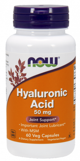 Now Foods Hyaluronic Acid with MSM 60 Veget.caps