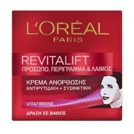 LOreal Paris Revitalift Face & Neck Day Cream 50ml
