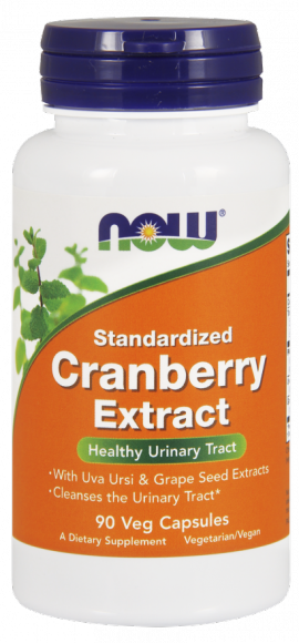 Now Foods Standardized Cranberry Max Strengh 90 Veget.caps