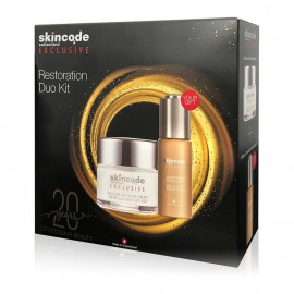 Skincode Restoration Duo Kit Exclusive Cellular Anti Aging Cream 50ml + Δώρο Cellular Overnight Restoration Oil 30ml