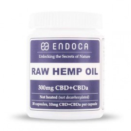 Endoca Raw Hemp oil Capsules 3% CBD 30pieces
