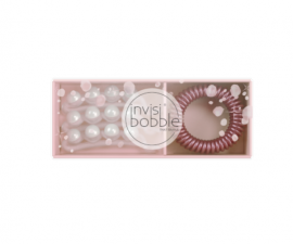 Invisibobble Sparks Flying Duo 3x Waver Crystal Clear & 3x Slim Im Starstruck