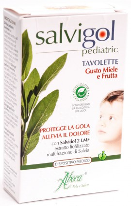 Aboca Salvigol Bio Pediatric Tavol 30 Καραμέλες