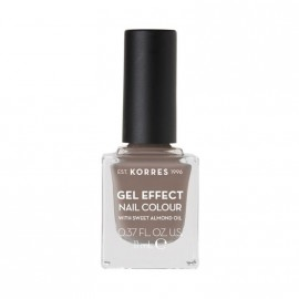 Korres Βερνίκι Νυχιών Gel Effect Nail Colour No95 Stone Grey 11ml