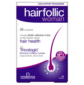 VITABIOTICS HAIRFOLLIC Woman 60 tabs (πρώην Tricologic Woman)