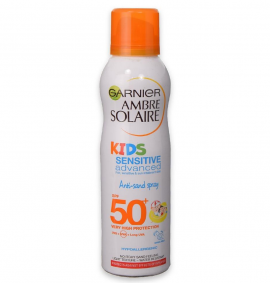 Garnier Ambre Solaire Kids Sensitive SPF50 Anti-Sand Spray 200ml