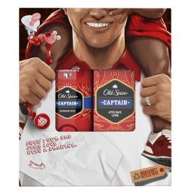 Old Spice Set Show Your Dad Some Love Captain Deodorant Stick 50ml + Old Spice Captain After Shave Lotion 100ml