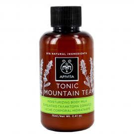 Apivita Mini Shower Gel Αφρόλουτρο Tonic Mountain Tea 75 ml