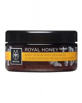 APIVITA ROYAL HONEY Body Scrub with Sea Salts 200gr
