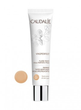 CAUDALIE VINOPERFECT Radiance Tinted Moisturizer Broad Spectrum SPF20 01-Light 40ml