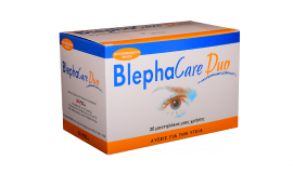 BLEPHACARE Duo Pads Μαντηλάκια καθαρισμού 30τμχ