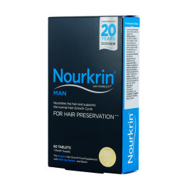 Nourkrin Man for Hair Preservation 60tabs