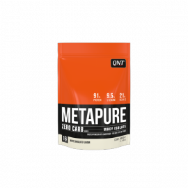 QNT Metapure Zero Carb Whey Isolate Protein Powder White Chocolate 480gr