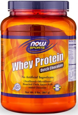 Now Foods Whey Protein Dutch Chocolate 907gr