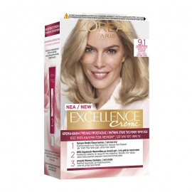 LOreal Excellence Creme 9.1 Ξανθό Πολύ Ανοιχτό Σαντρέ 48ml