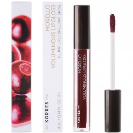 Korres Morello Voluminous Lipgloss Plump Lips Brilliant Shine 58 Bloody Cherry 4ml