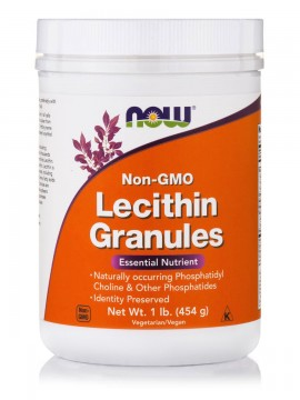 Now Foods Lecithin Granules (Non GMO) Vegetarian 1lb 454gr