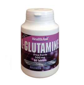 HEALTH AID L-GLUTAMINE 500mg 60s