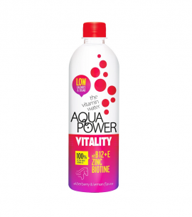 Aqua Power Water Vitality Elderberry & Lemon Favor 375ml