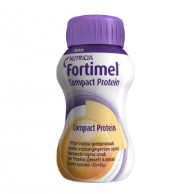Nutricia FORTIMEL Compact Protein Ζεστό τροπικό τζίντζερ 4X125ml