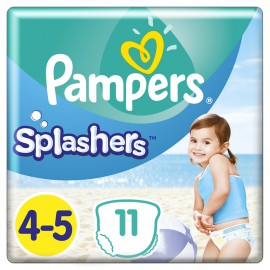 Pampers Splashers No.4-5 (9-15kg) 11 Πάνες