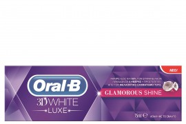 ORAL-B 3D WHITE LUXE GLAMOUR SHINE 75ML