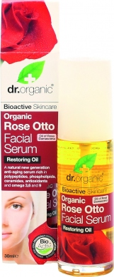 DR.ORGANIC ROSE OTTO FACIAL SERUM OIL 30ML