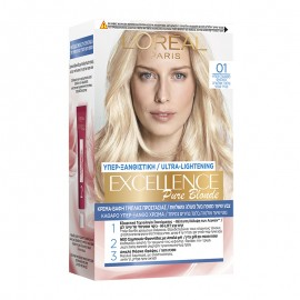 LOreal Excellence Creme 01 Υπέρ-ξανθο Φυσικό 48ml