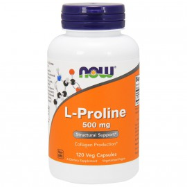 Now foods L-Proline 500mg 120 Veget.caps