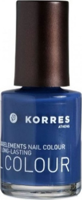 Korres Nail Color, Βερνίκι Νυχιών Blueberry 89,10ml