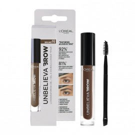 LOreal Paris Unbelieva Longwear Brow Gel 105 Brunette 3.4ml