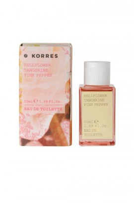 KORRES EAU DE TOILETTE BELLFLOWER, TANGERINE & PINK PEPPER 50ML