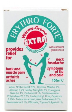 Erythro Forte Extra Thermocream 100ml