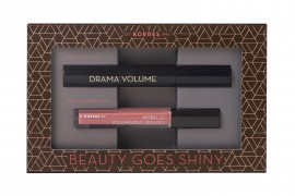 Korres Set Drama Volume Mascara & Korres Morello Voluminous Lipgloss