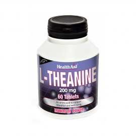 HEALTH AID L-THEANINE 200mg 60Tabs
