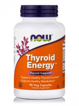 Now Foods Thyroid Energy 90 Veg.Caps.